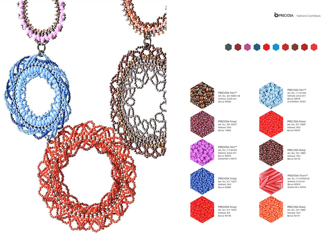 BEADING COLOR TRENDS Autumn / Winter 2017