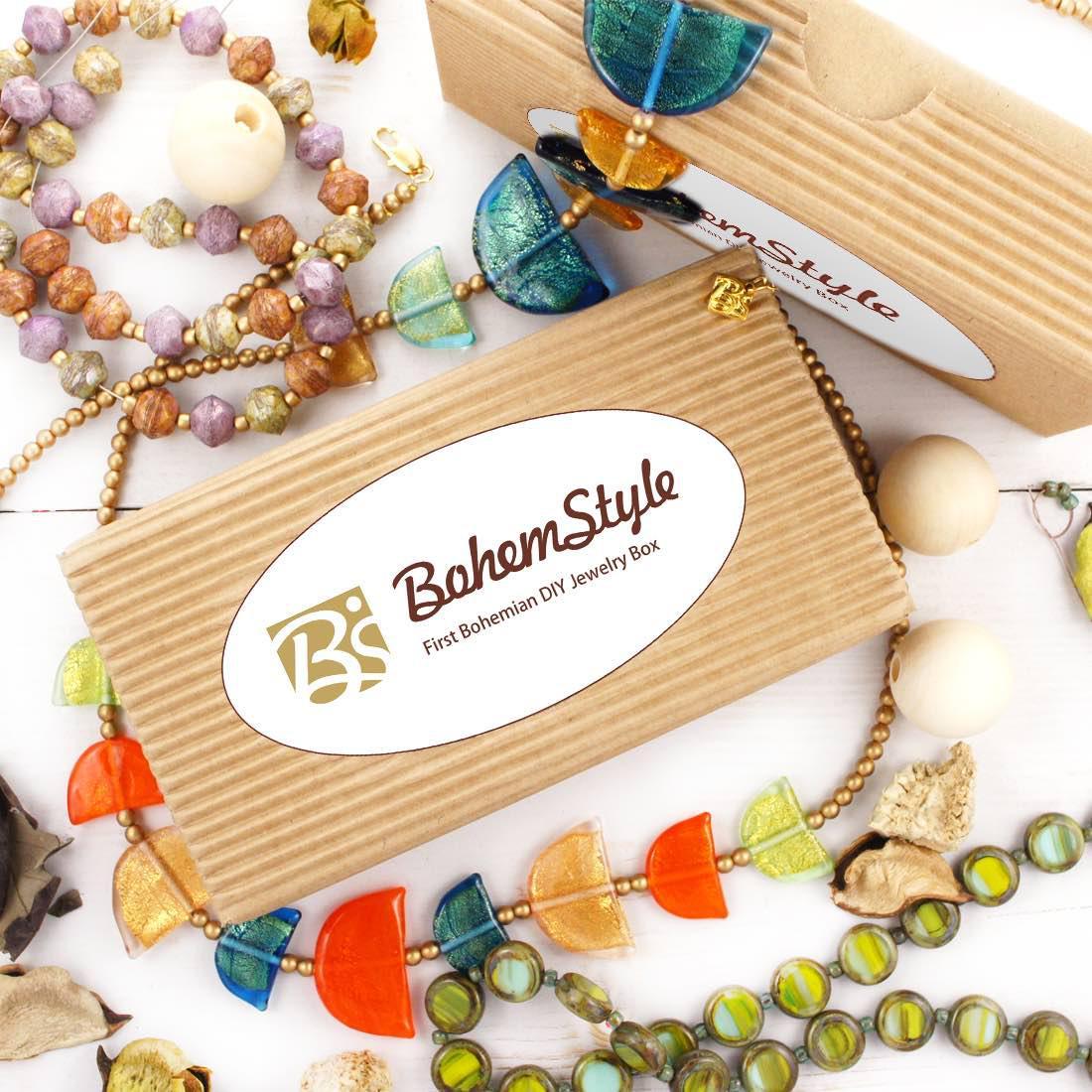 Bohemstyle Diy Jewelry Box Subscription