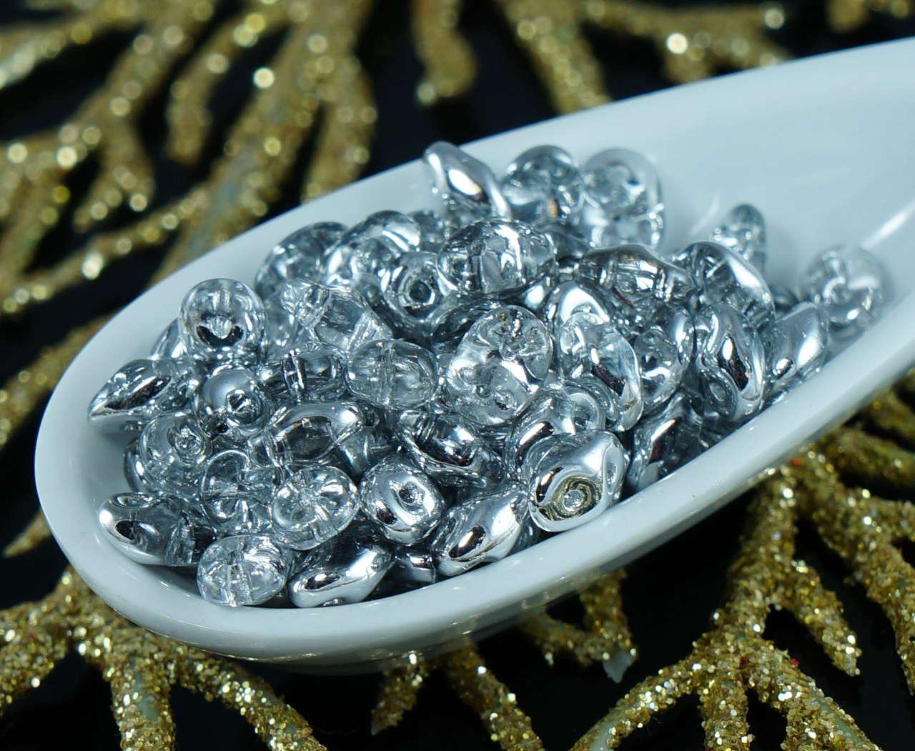 15 g de paquetes Superduo 2 Agujeros Cristal vitrial 2.5 x5mm Perlas De Vidrio
