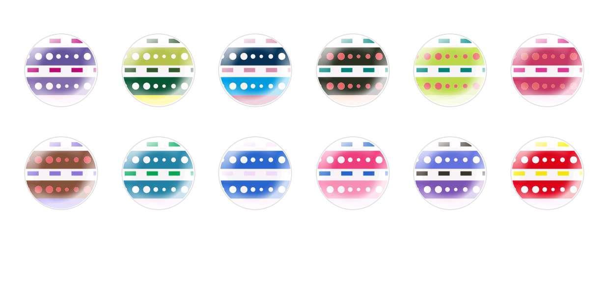 Mano De Cúpula Cristal Checo Cabujones Patrones 137 para $ 6.92 de Czech Beads Exclusive