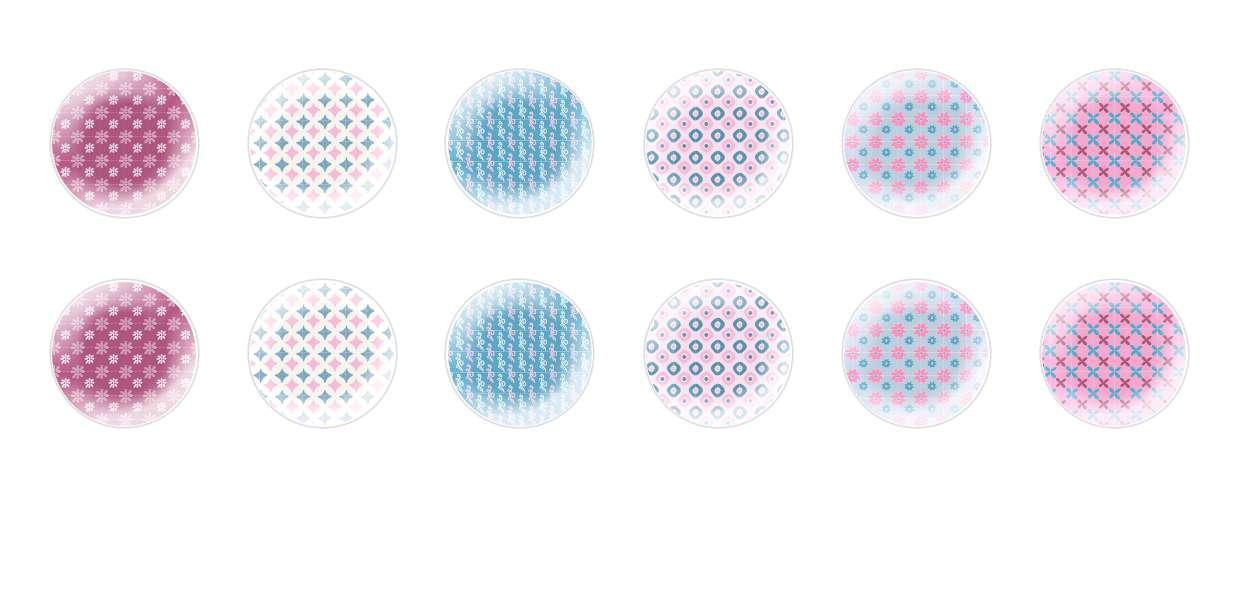 Ручной Работы Кабошоны Цветочные Узоры 2 для $ 6.92 из Czech Beads Exclusive