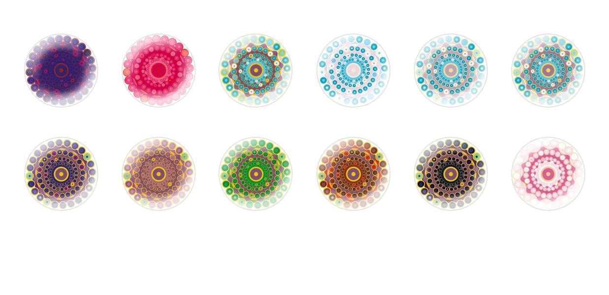 Runde Kuppel Tschechische Glas-Cabochons Blumen 180 für $ 6.89 von Czech Beads Exclusive