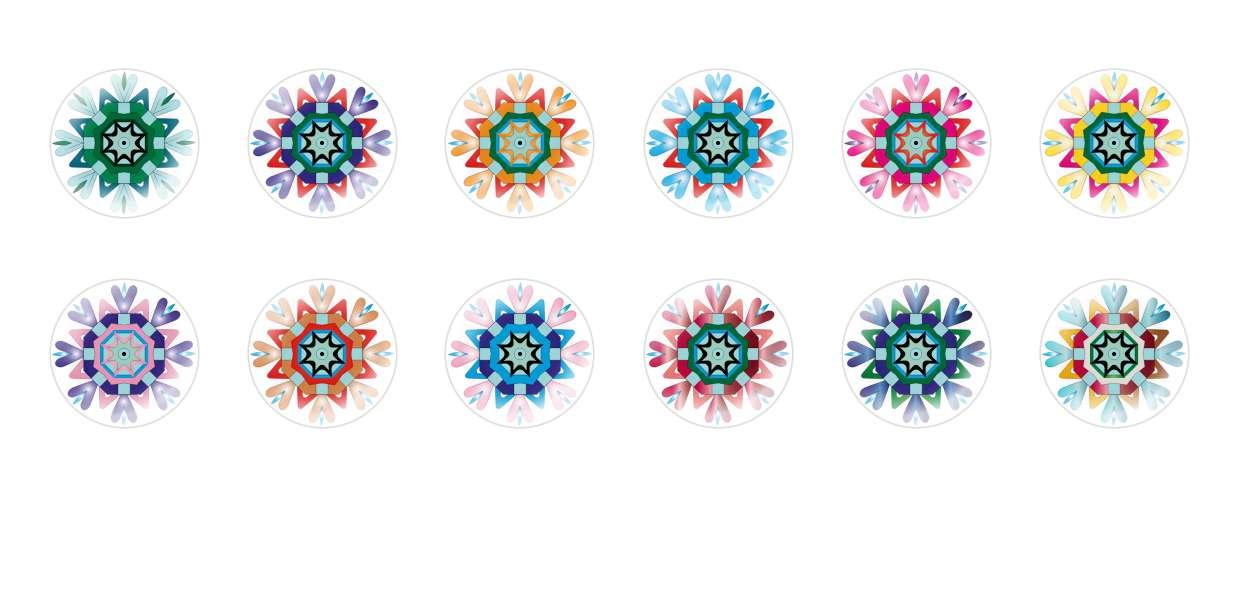 Handmade Round Domed Czech Glass Cabochons Flowers 10 for $6.98 from Czech Beads Exclusive