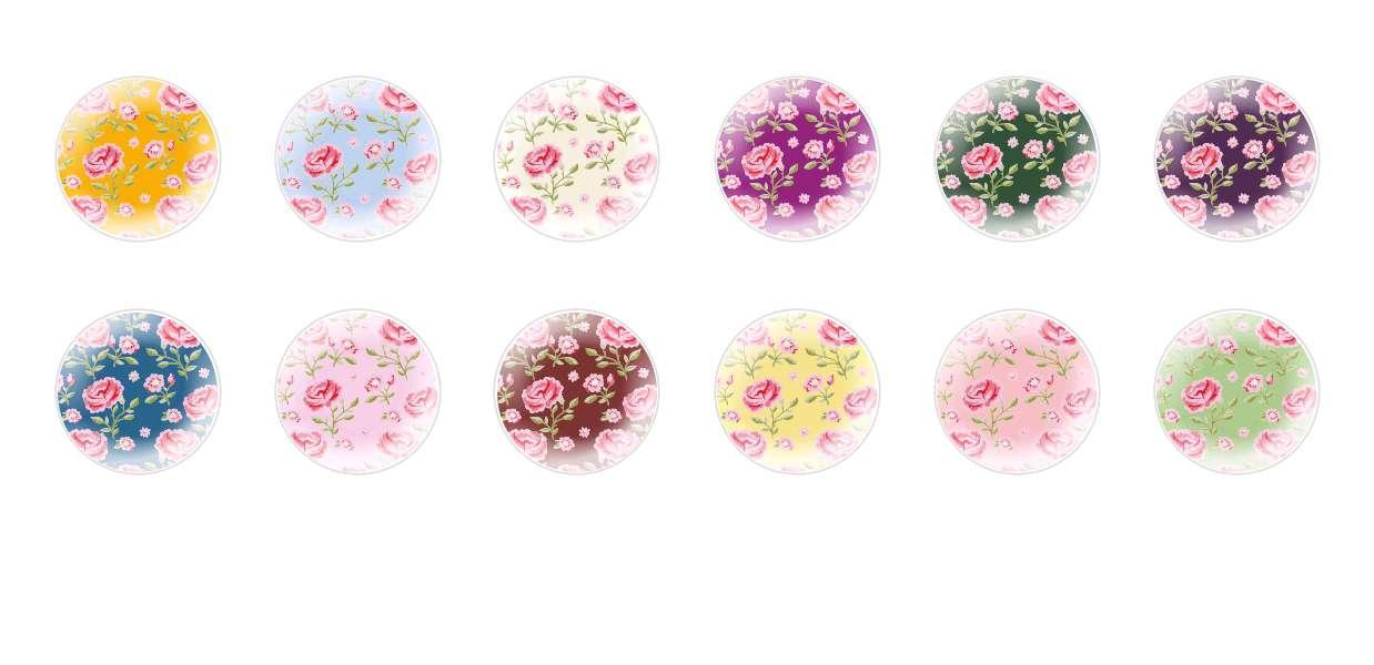 Main Rond En Forme De Dôme Verre Tchèque Cabochon Modèles 131 pour $ 7.29 à partir de Czech Beads Exclusive