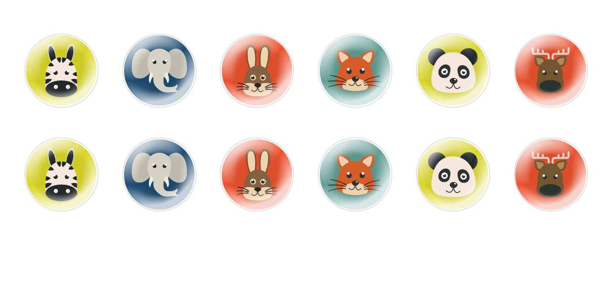 Handmade Round Domed Czech Glass Cabochons Animals Muzzles 2 for $6.88 from Czech Beads Exclusive