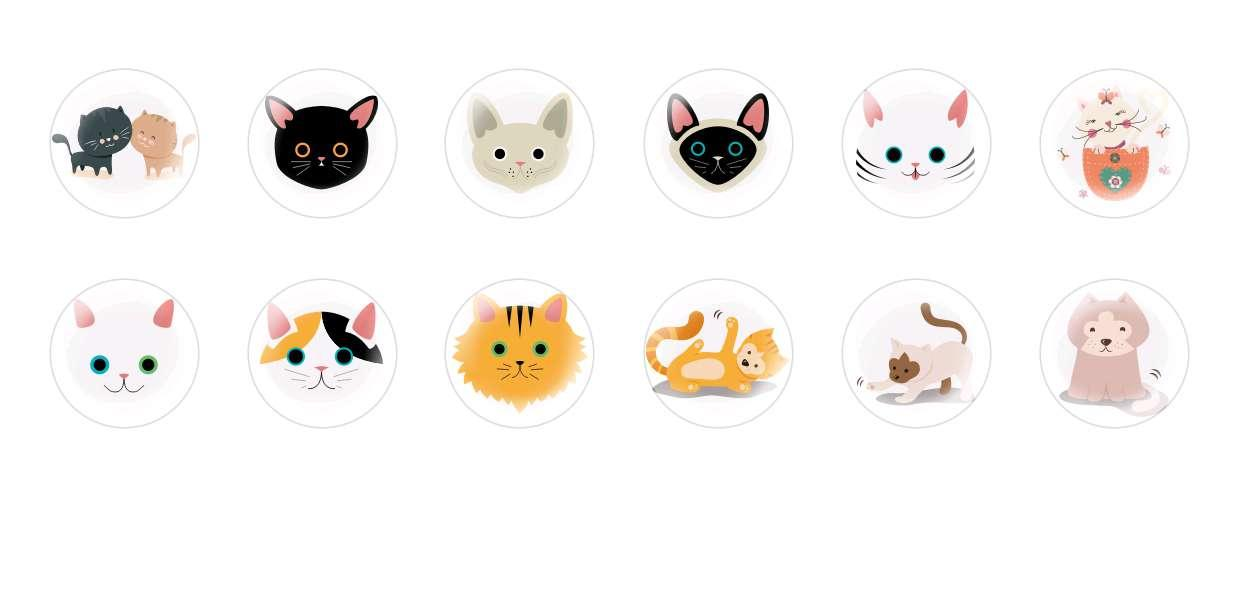 Handmade Round Domed Czech Glass Cabochons Cats Halloween 1 for $7.29 from Czech Beads Exclusive