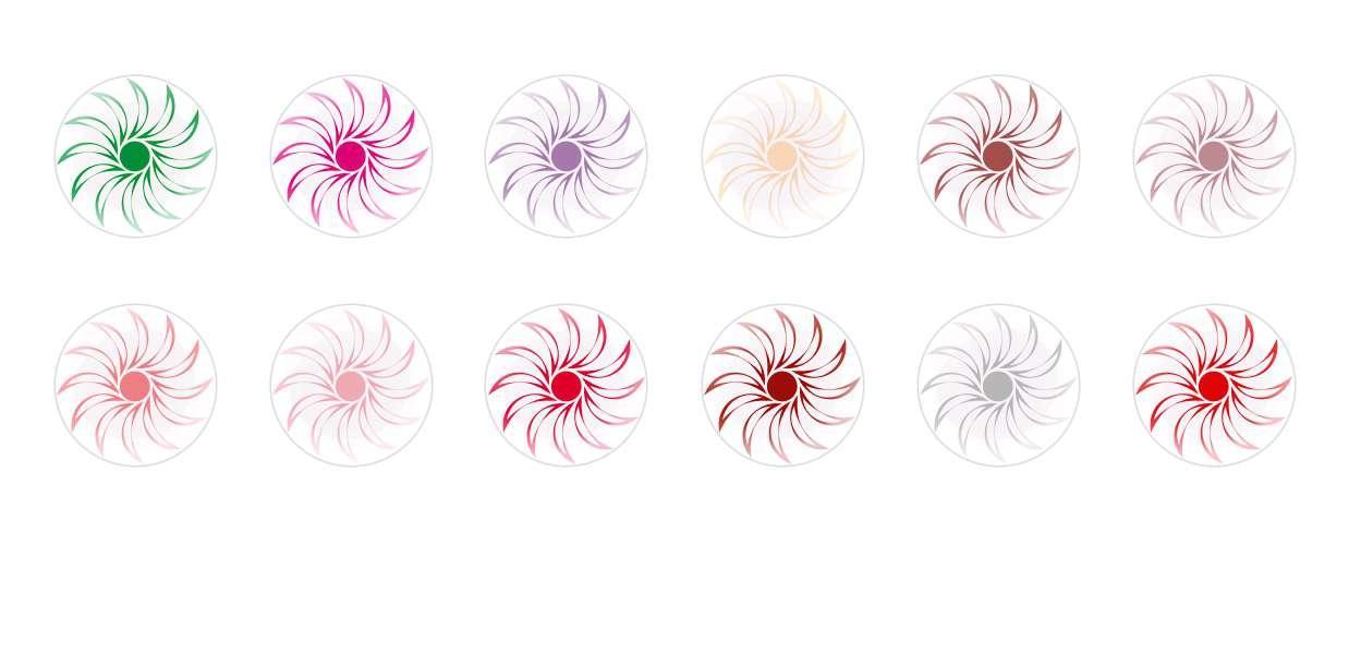 Круглый Купольный Ручной Работы Кабошоны Цветы 96 для $ 6.93 из Czech Beads Exclusive