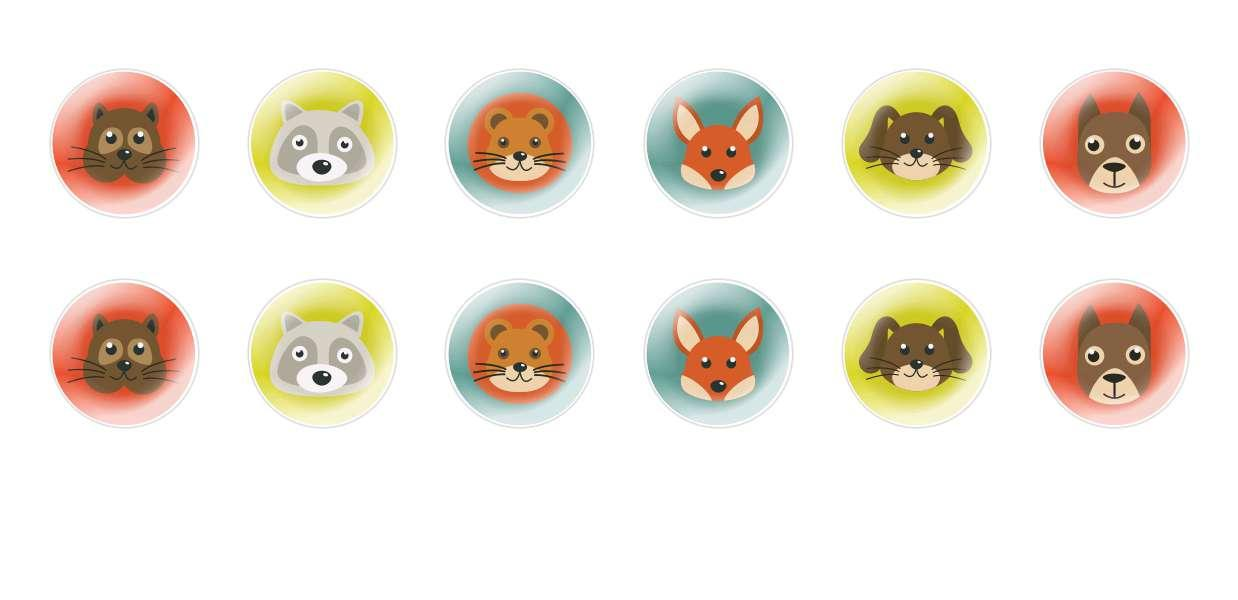 Handmade Round Domed Czech Glass Cabochons Animals Muzzles 1 for $6.89 from Czech Beads Exclusive