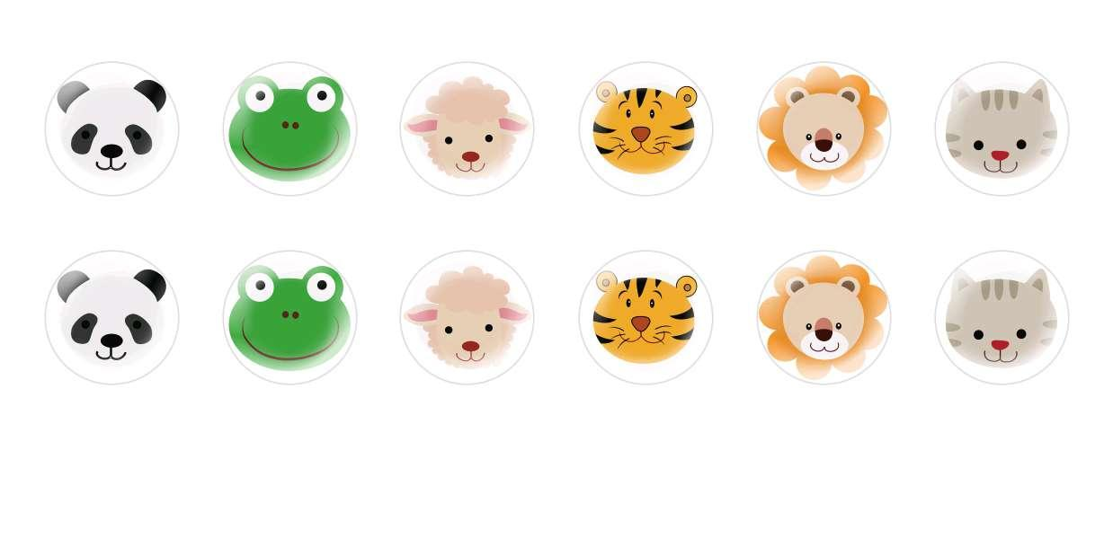 Handmade Round Domed Czech Glass Cabochons Animals Faces for $7.29 from Czech Beads Exclusive