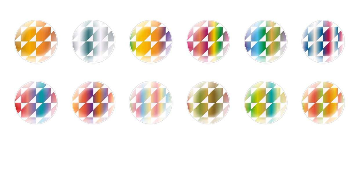 Круглый Купольный Ручной Работы Кабошоны Структуры 117 для $ 7.29 из Czech Beads Exclusive