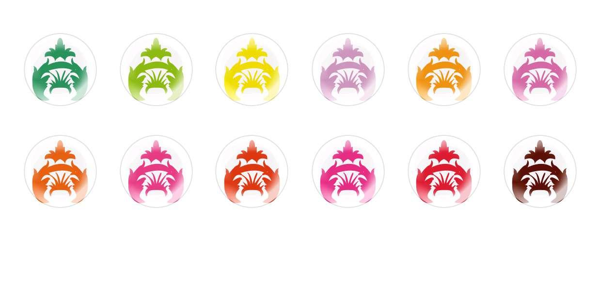 Handmade Round Domed Czech Glass Cabochons Patterns 24 for $7.29 from Czech Beads Exclusive