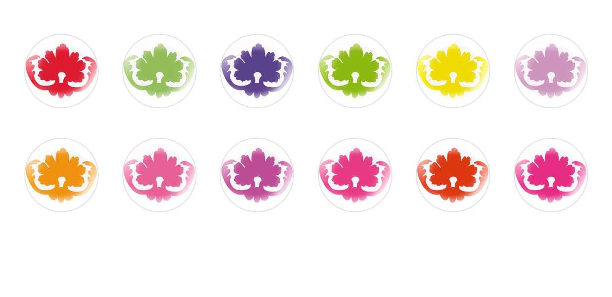 Handmade Round Domed Czech Glass Cabochons Patterns 22 for $7.29 from Czech Beads Exclusive