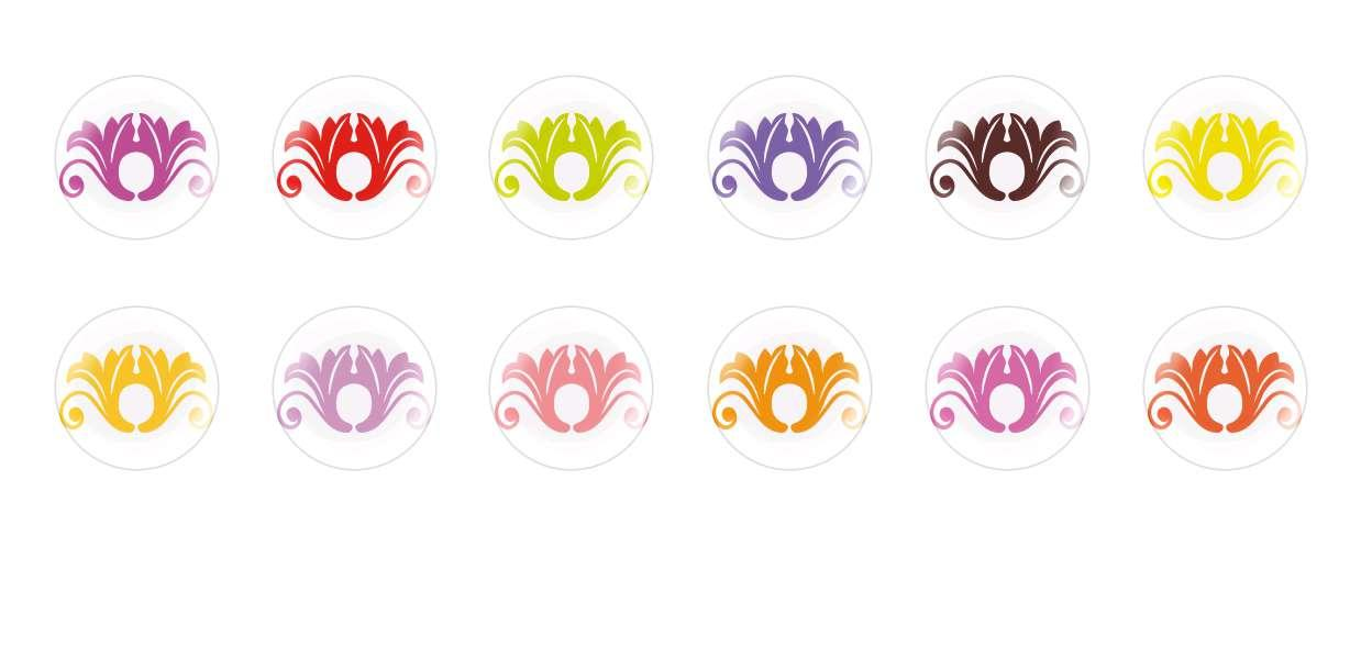 Handmade Round Domed Czech Glass Cabochons Patterns 58 for $6.93 from Czech Beads Exclusive