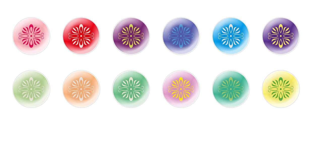 Handmade Round Domed Czech Glass Cabochons Patterns 157 for $7.29 from Czech Beads Exclusive