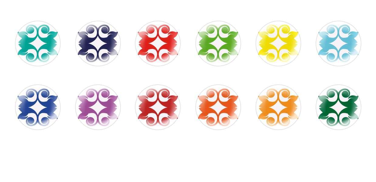 Runde Kuppel Tschechische Glas-Cabochons Muster 81 für $ 6.93 von Czech Beads Exclusive
