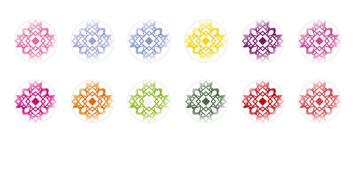 Handmade Round Domed Czech Glass Cabochons Patterns 35 for $7.29 from Czech Beads Exclusive