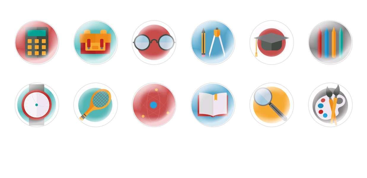 Runde Kuppel Tschechische Glas-Cabochons Schule 4 für $ 7.29 von Czech Beads Exclusive