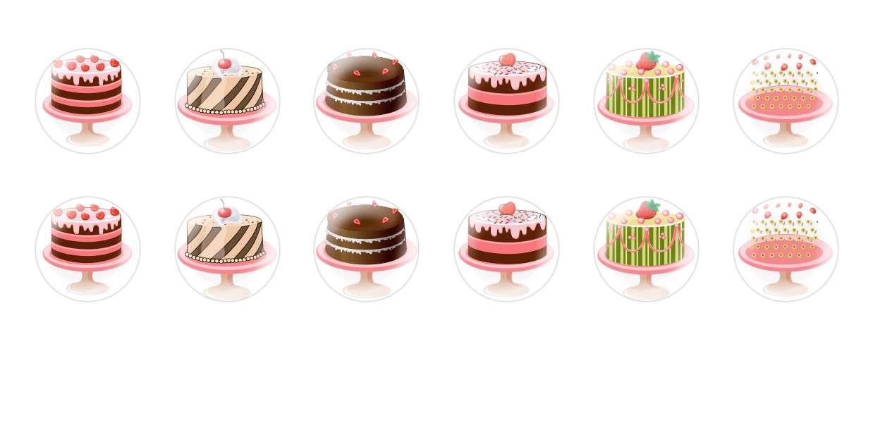 Handmade Round Domed Czech Glass Cabochons Super Cakes for $6.93 from Czech Beads Exclusive