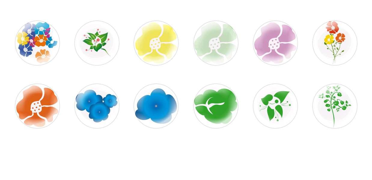 Handmade Round Domed Czech Glass Cabochons Flowers 59 for $7.29 from Czech Beads Exclusive