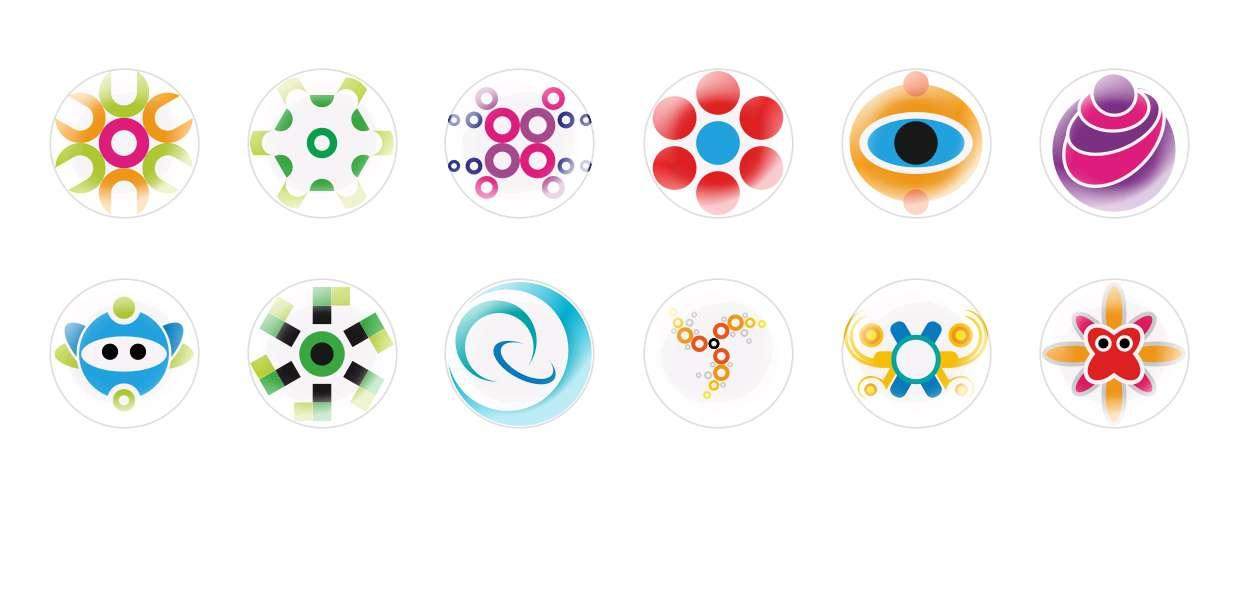 Handmade Round Domed Czech Glass Cabochons Funny Personages for $7.29 from Czech Beads Exclusive