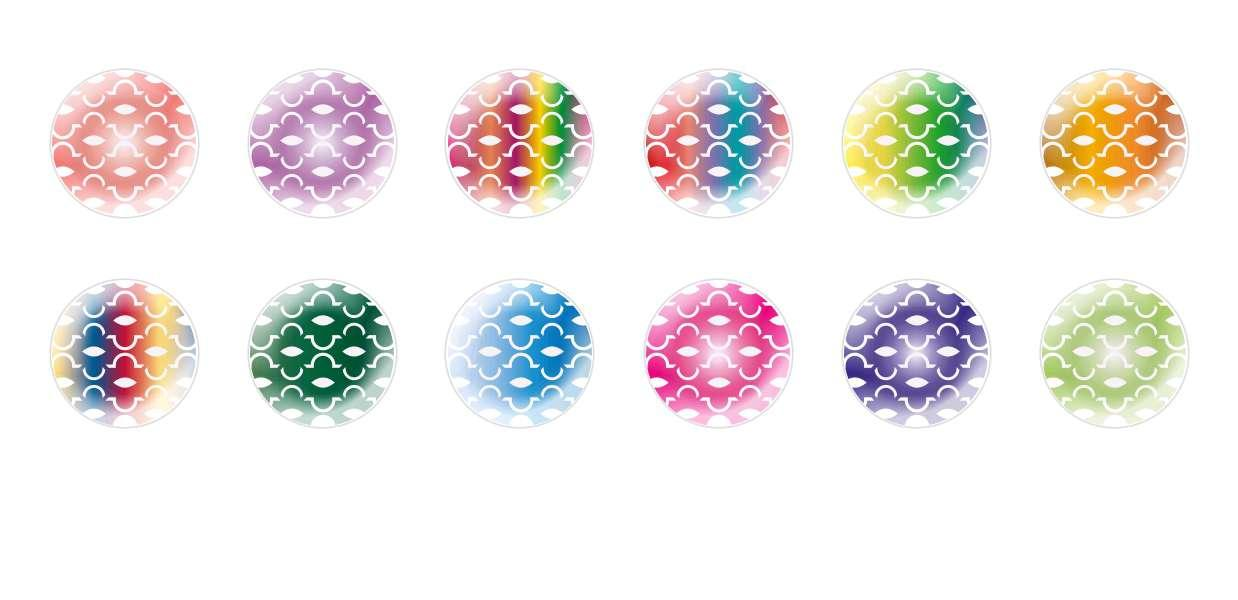 Handmade Round Domed Czech Glass Cabochons Patterns 125 for $7.29 from Czech Beads Exclusive