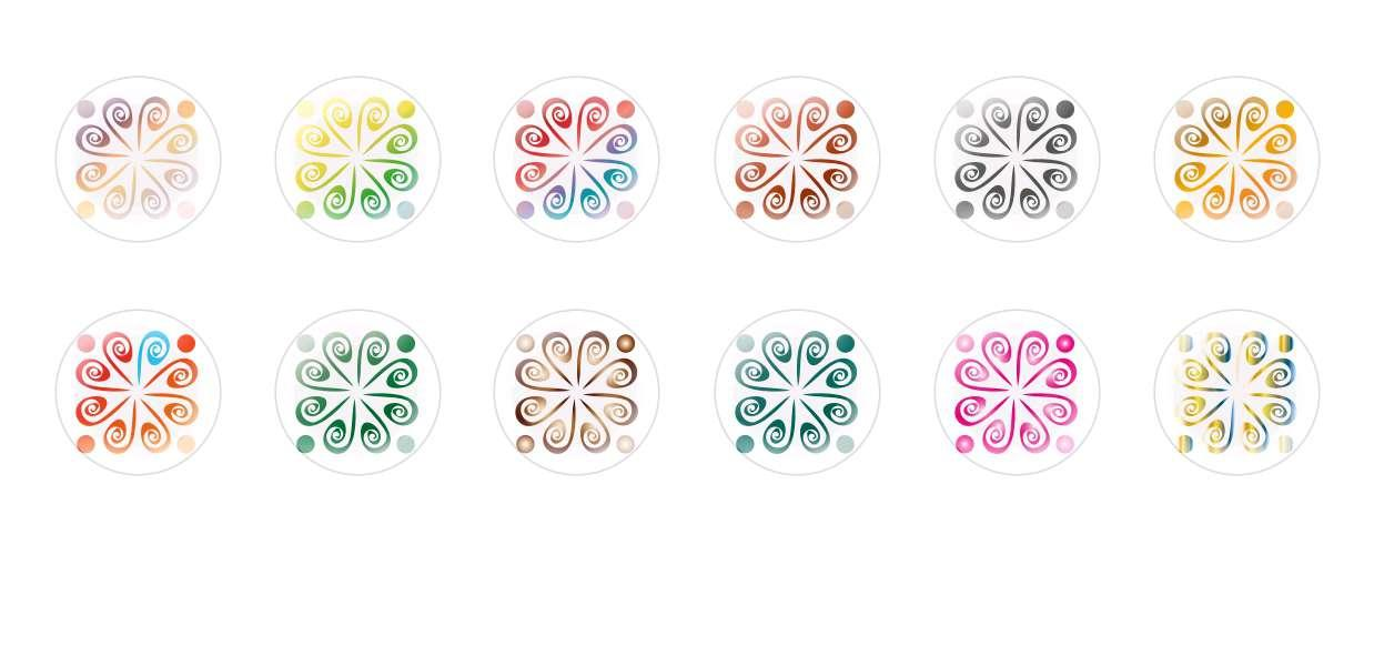 Handmade Round Domed Czech Glass Cabochons Other Patterns 6 for $7.29 from Czech Beads Exclusive