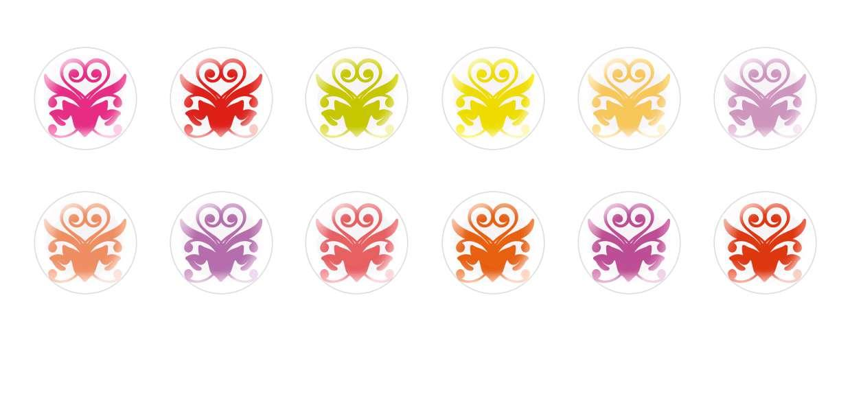 A Mano Rotonda Con Cupola Di Vetro Ceco Cabochon Fiori 223 per $ 7.29 da Czech Beads Exclusive