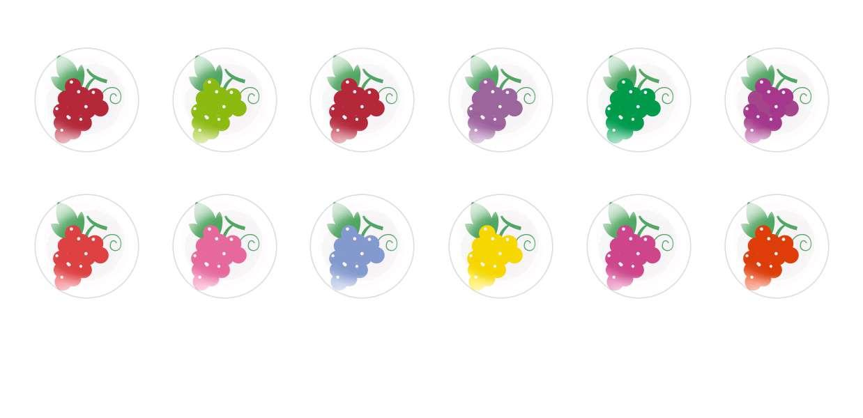 Handmade Round Domed Czech Glass Cabochons Grapes for $7.29 from Czech Beads Exclusive