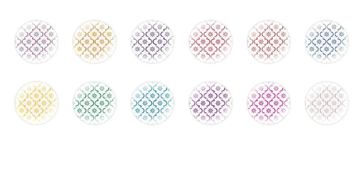 Handmade Round Domed Czech Glass Cabochons Patterns 121 for $7.29 from Czech Beads Exclusive