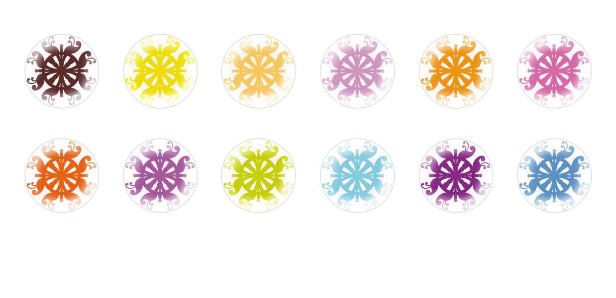 Handmade Round Domed Czech Glass Cabochons Patterns 52 for $6.93 from Czech Beads Exclusive