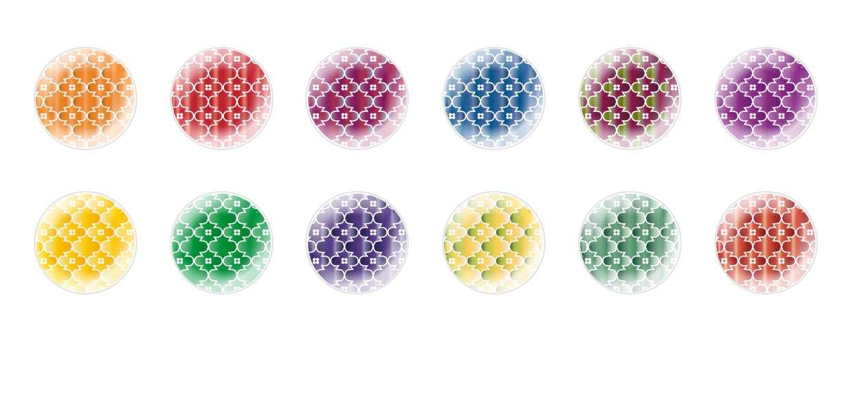 Handmade Round Domed Czech Glass Cabochons Patterns 127 for $6.93 from Czech Beads Exclusive