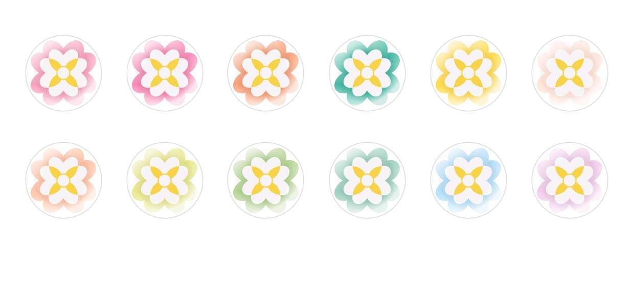 Handmade Round Domed Czech Glass Cabochons Flowers 92 for $6.93 from Czech Beads Exclusive