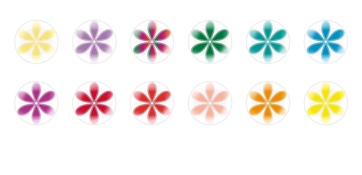 Handmade Round Domed Czech Glass Cabochons Flowers 77 for $6.93 from Czech Beads Exclusive