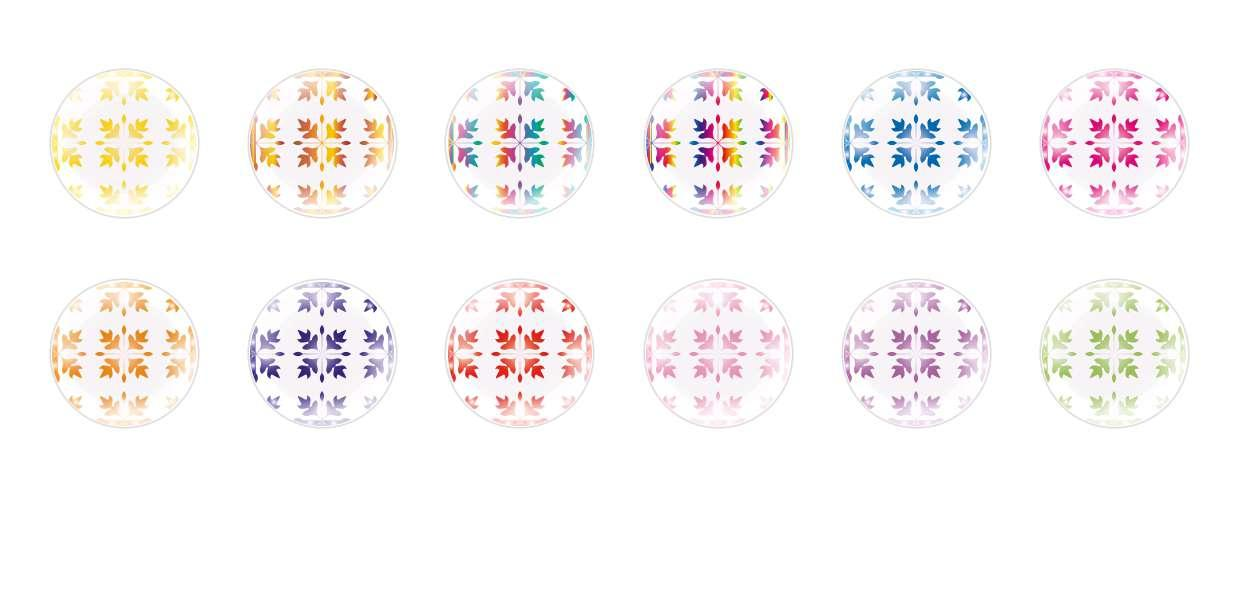 Handmade Round Domed Czech Glass Cabochons Patterns 122 for $6.93 from Czech Beads Exclusive