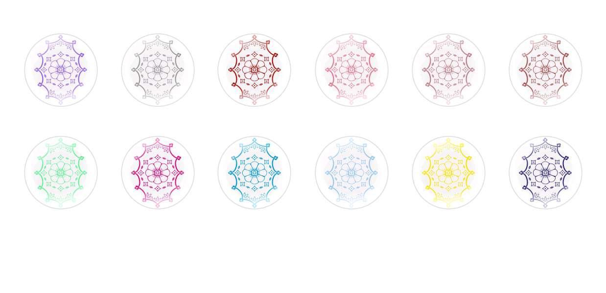 A Mano Rotonda Con Cupola Di Vetro Ceco Cabochon Fiori 82 per $ 7.29 da Czech Beads Exclusive