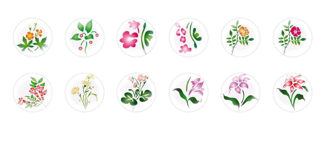 Main Ronde Verre Tchèque En Forme De Dôme Cabochons Fleurs 78 pour $ 6.93 à partir de Czech Beads Exclusive