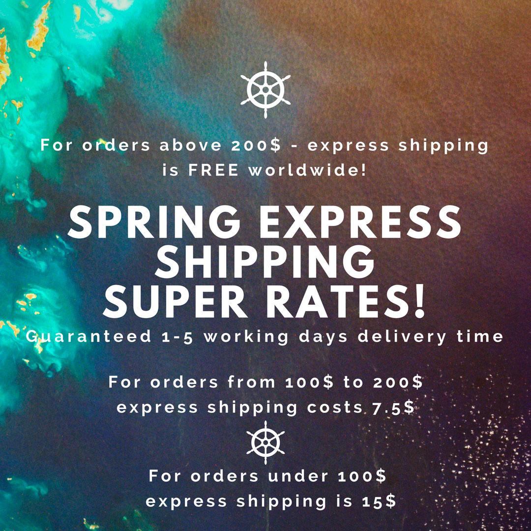 927e290e73e Spring Free Express Shipping Super Rates!