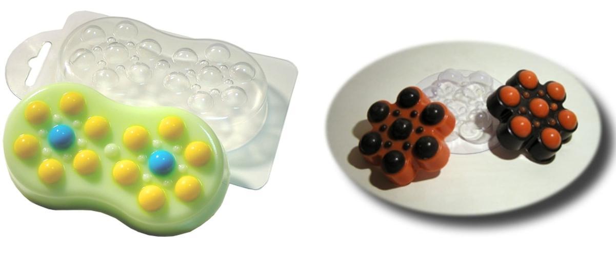 1pc Sweet Plastic Soap Making Mould
