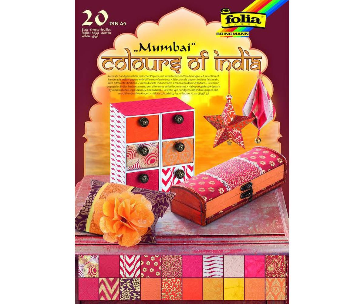 Papers colors Of India Folia Bringmann Background Paper Background Scrapbooking Card Making Punjab Art Journal Din A4