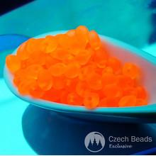 20г оранжевый Неон чешского стекла Соло бисер УФ-Активный оранжевый неоновый бисер PRECIOSA прессованные бусины жемчуг бисер Рокайль Соло бусина 2,5 мм х 5 мм для $ 4.7 из Czech Beads Exclusive