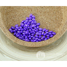 NUOVA FINITURA 10g ORO BRILLARE Viola MINIDUO ceca Seed Beads di Vetro a Due Fori Mini Duo 2mm x 4mm per $ 3.34 da Czech Beads Exclusive