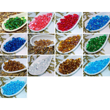 Clear Farfalle Seed Beads Glass Czech Preciosa Peanut Spacer 6mm for $3.33 from Czech Beads Exclusive