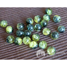 Green Black Cracked Glass Beads Green Black Beads Czech Glass Round Beads Czech Beads Bohemian Beads Original Exclusive Authentic 8mm 10pc for $2.44 from Czech Beads Exclusive