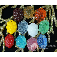Mix Multicolor Czech Glass Grape Beads Fruit Wine Fall 14mm x 10mm 12pcs for $2.29 from Czech Beads Exclusive