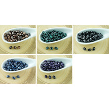 20g Jet Tweedy Superduo Czech Glass Seed Beads Two Hole Super Duo 2.5mm X 5mm for $3.23 from Czech Beads Exclusive