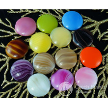 2pcs Mix Multicolor Czech Glass Domed Cabochon 23mm x 6mm for $2.33 from Czech Beads Exclusive