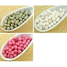 100шт Шелк Матовый Круглый Граненый Огонь Полированные Бусины Чешские Стеклянные 4мм для $ 4.73 из Czech Beads Exclusive