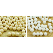 40pcs White Alabaster Opal Round Druk Spacer Seed Czech Glass Beads 6mm for $2.53 from Czech Beads Exclusive