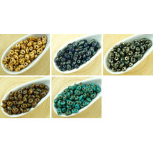 20g Picasso Superduo Czech Glass Seed Beads Two Hole Super Duo 2.5mm X 5mm for $5.16 from Czech Beads Exclusive
