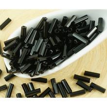 20g Opaco Jet Black ceca Tubo di Vetro Seme Perline Esagono Steklyarusa PRECIOSA Perle Rocaille Distanziale 7mm per $ 2.59 da Czech Beads Exclusive